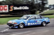 ROVER SD1 Vitesse. Jeff Allam Donington Park BTCC 1983 photo (B)